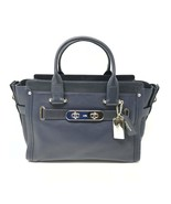 Coach Swagger Pebbled Leather Satchel Women's Bag 34408 - $269.00