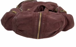ALEXANDER WANG Marti Lambskin Leather Backpack Rare Burgundy Purse Bag image 9