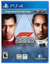 F1 2019 Anniversary Edition - PS4 - PlayStation 4 [video game] - $92.46