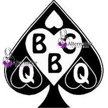 2Pcs Queen Of Spades Temporary Tattoo Hotwife Cuckold Sissy Cuckoldress Slut - $14.99
