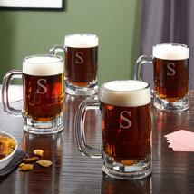 Benton Personalized Beer Mugs, Set of 4 - $69.95