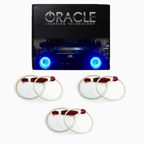 Primary image for Oracle Lighting IN-QX1113-B - Infiniti QX56 LED Halo Headlight Rings - Blue