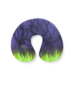 Forest of Thorns Maleficent Disney Villains Inspired Travel Neck Pillow - $28.78 CAD