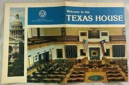 1960s Welcome to the Texas House of Representatives Reference Book Austi... - $48.51
