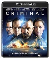 Criminal  (4K Ultra HD+Blu-ray)