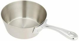 *Satokinzoku Kogyo saucepan silver 10cm - $25.48