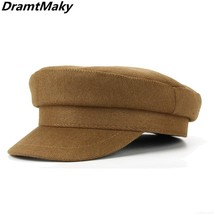 "2018 hot sale women""s berets Newsboy Hat Flat cap Gatsby Tweed Hat Count... - $14.60"
