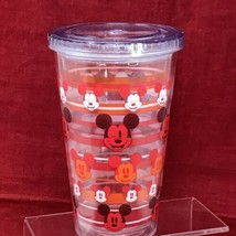 Disney Store Acrylic Tumbler The Faces of Mickey Mouse 16 oz - $25.21