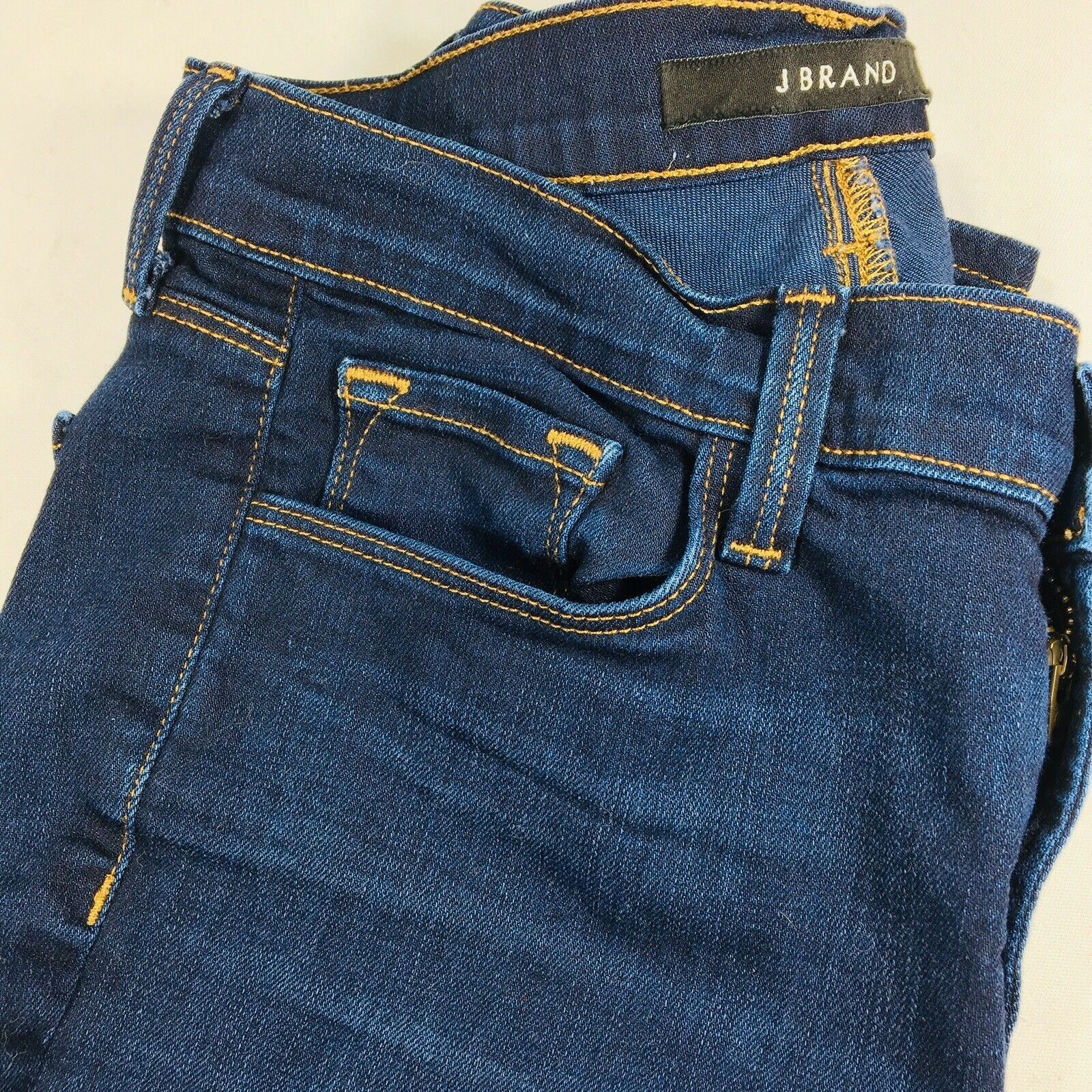 J Brand Womens Cigarette Leg Ignite Slim Straight Leg Cotton Stretch Size 28x31 image 10