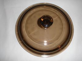"Pyrex Lid P-81-C 6"" Amber Vision Round - $7.69"