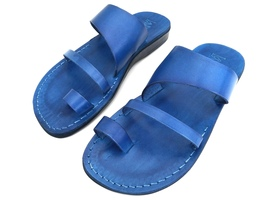 Leather Sandals for Men and Women TRIPLE by SANDALIM Biblical Greek Summ... - $39.07 CAD+