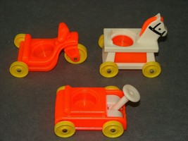 Fisher Price Little People: 656 Little Riders Wagon Horse Tricycle - $9.00