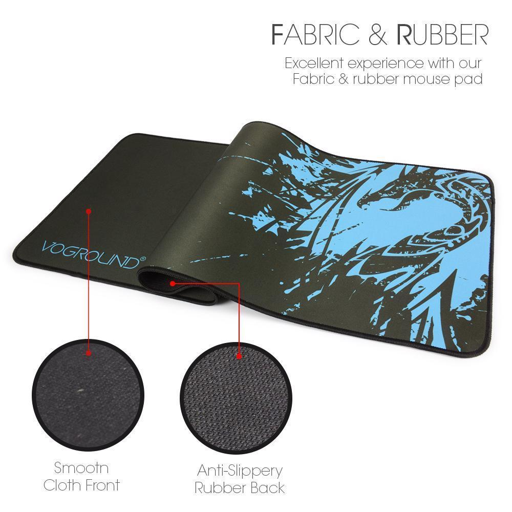 Mouse Pad Gaming Locking Edge Natural Rubber And 50 Similar Items 300 X 250mm Table Mat Large Pc Laptop Tablet