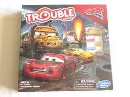 NEW  Trouble Game: Disney Pixar Cars 3 Edition Pop-O-Matic Classic Mrs F... - $7.99