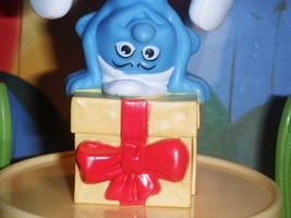 Smurf Birthday Present  fits Fisher Price Loving Family Dollhouse Dolls - $4.99
