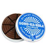 SCHO-KA-KOLA Schokakola Vollmilch/ MILK -Energy Chocolate NO COOL PACK-F... - $9.75