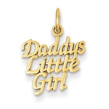 14K Yellow or White Gold Daddy's Little Girl Pendant - $76.99+