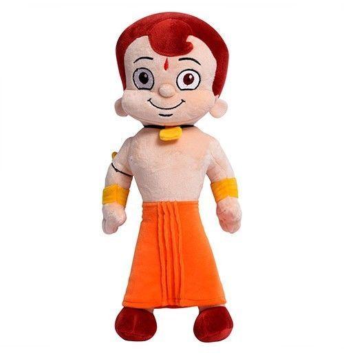 Chhota Bheem Choose from 3 Indian Cartoon Characters Plush Toys Soft Toys Dolls