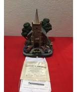 Hawthorne Village Thomas Kinkade lighted Windermer Church Christmas Figu... - $25.00