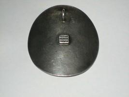 "Vintage Delphine Nardin Paris Silver Pendant With 12 Amethyst Stones 2"" ... - $29.69"