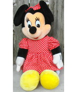 "Disneyland Minnie Mouse Large 21"" Plush - $35.00"
