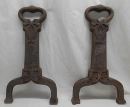 Vintage Cast Iron Log Holders Fireplace, Shelves or Whatever! - $24.99