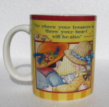 "2005 ""The Reward of Friendship Is Itself"" Extra Large Ceramic Mug For Th... - $14.99"