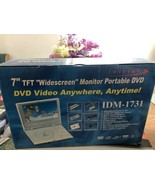 Initial IDM-1731 Widescreen Monitor   Portable DVD MP3 Compact Disc Play... - $123.75