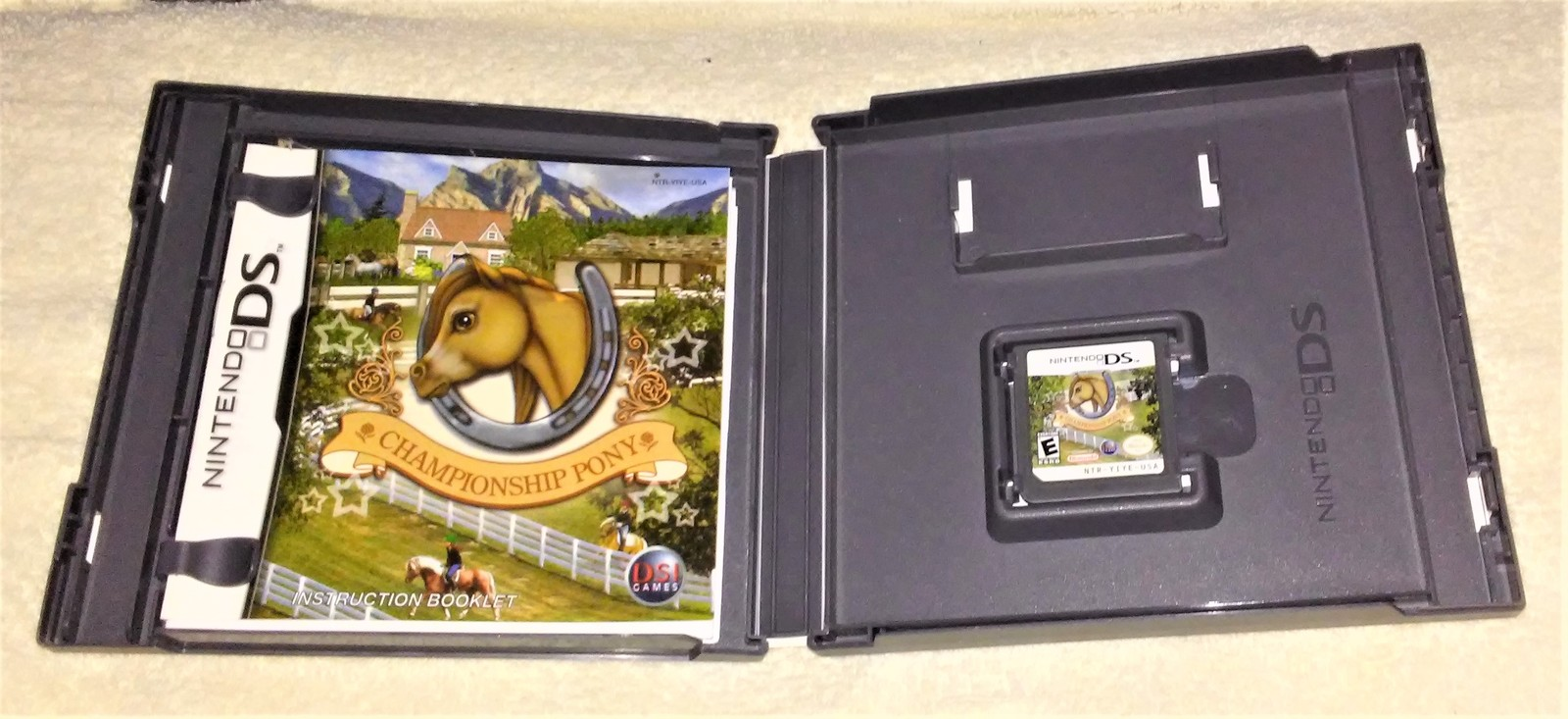 Nintendo DS CHAMPIONSHIP PONY Video Game in case with Instructions from 2007 image 3