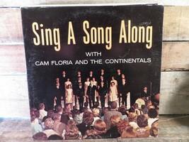 CAM FLORIDA & Continentals Sing A Song Along LP Record Album Vinyl - £5.67 GBP