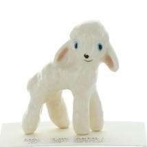 Hagen Renaker Farm Lamb Wooly White Ceramic Figurine