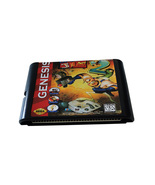 sega genesis  game cartridge with earth worm jim game for sega game console - $25.90