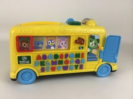 Leap Frog Phonics Fun Animal School Bus Letter Learning Scout Sounds Mus... - $39.55