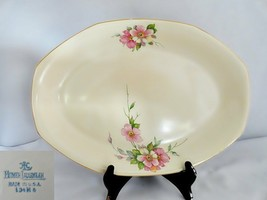 "Homer Laughlin Wild Rose Yellowstone 13"" Platter - $42.06"