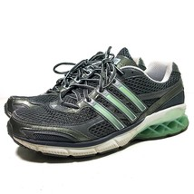 Adidas Pure Boost Running Shoes 378080 Gray Lace Up Women's Size 9 M Exc... - $29.69