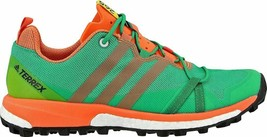 ADIDAS TERREX AGRAVIC WOMEN'S RUNNING CORE GREEN, BLACK, EASY ORANGE 7.5... - $84.64