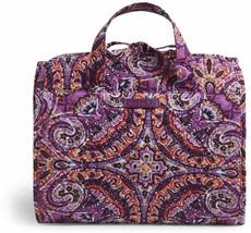 Vera Bradley Kult Hängen Reise Organizer Nwt Traum Tapestry Lila Verpackbar - $44.74