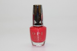 OPI Infinite Shine 2 Cajun Shrimp IKL L64 0.50 oz Coral New Bottle 309 - $8.90