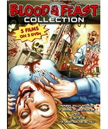 Blood Feast Collection, 5 Classic Horror Films on 2 DVD set (Region 0 Wo... - $14.99