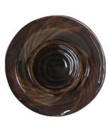"Sakura Port Of Call Collection Tortoise Shell Brown Dinner Plates 11 1/4"" - $29.69"
