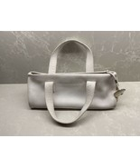 burberry Designer White  Leather Satchel Tote Handbag - $272.25