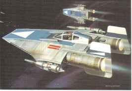Star Wars Rebel A-Wing Fighter 4 x 6 Photo Postcard NEW - $2.00