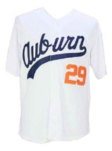 Bo Jackson #29 College Baseball Jersey Button Down White Any Size image 4