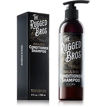 3-in-1 Beard Shampoo and Conditioner for Face, Beard, and Hair - Beard Wash and