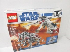 LEGO 14 + 10195 Star Wars Republic Dropship and AT-OT Toy Used F81 - $1,997.99