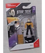 Mega Construx Data Star Trek Next Generation TNG FVL-46 2018 Figurine Se... - $15.63
