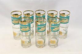 "Libbey Southern Comfort Riverboat Tom Collins 6.75"" Glasses Set Of 8 - $63.69"
