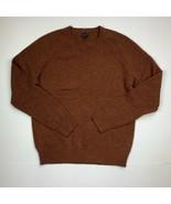 J Crew Sweater Pullover Lambswool Brown Sz M - $44.99
