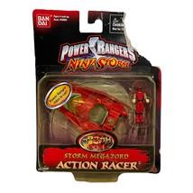 New Sealed 2003 Bandai Power Rangers Ninja Storm Crimson Thunder Action Racer - $4.94