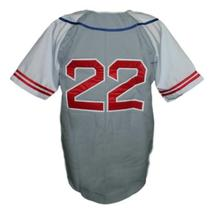 Hollywood Stars Retro Baseball Jersey 1950 Button Down Grey/White Any Size image 2